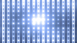 Bright Blue Flood Lights Flashing Animation