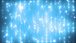 Energy blue waves particles and lines Animation