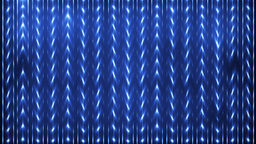 Energy Blue Waves Particles And Lines stock footage