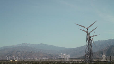 Wind farm Footage