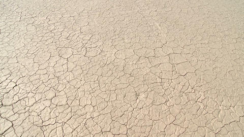 Salt pan landscape at el leoncito national park in argentina Stock Video Footage
