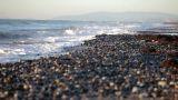 Pebble beach, Marbella, Spain Footage