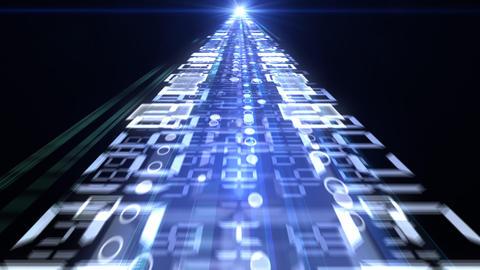 Data Stream ST5 F2 HD Stock Video Footage