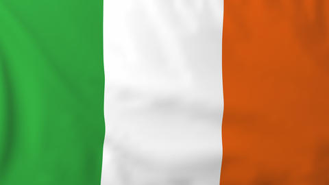 Flag of Ireland Animation