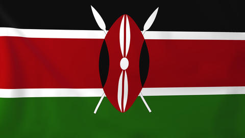 Flag of Kenya Animation