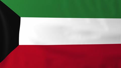 Flag of Kuwait Animation