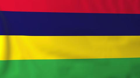 Flag of Mauritius Animation