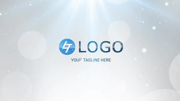 Light Elegant Logo After Effects Template