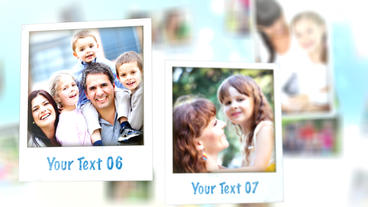 Happy Polaroid Gallery – Apple Motion and Final Cut Pro X Template