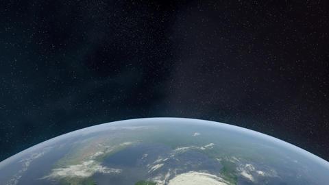 Earth Horizon Animation