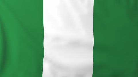 Flag of Nigeria Animation