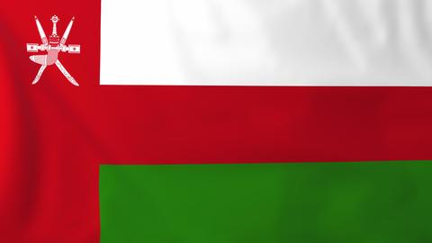 Flag of Oman Animation