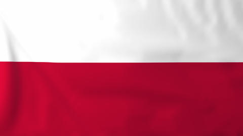 Flag of Poland Animation