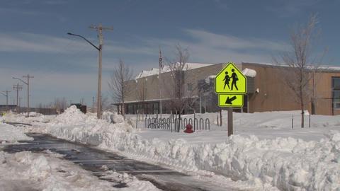 KCHS Snow Footage