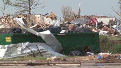 Moore Tornado Damage Live Action
