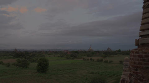 Sunrise at Bagan, myanmar Footage