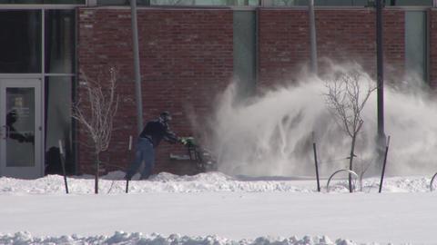 Snow Blower Footage