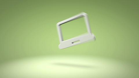 Laptop Icon Animation