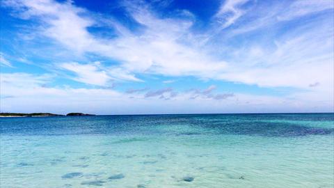 4K Okinawa islands IHeya Island Footage