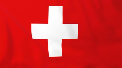 Flag of Switzerland Animation