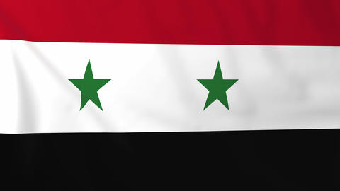 Flag of Syria Animation