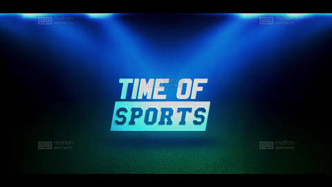 Sport Intro After Effects Template