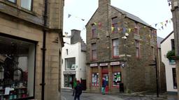 Scotland Orkney Islands Kirkwall 026 bend in downtown pedestrian zone Footage
