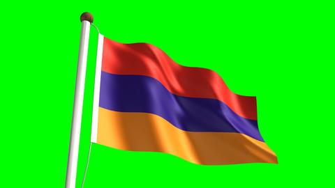 Armenian flag Animation