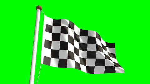 Chequered Flag stock footage