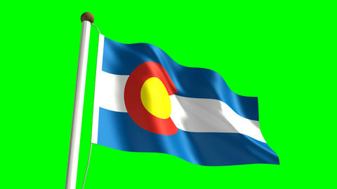 Colorado flag Animation