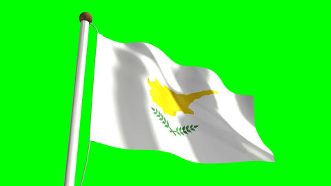 Cypriot flag Animation