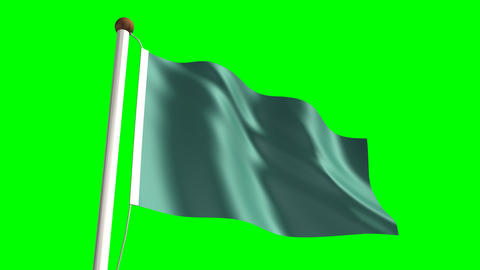 Libya flag Animation