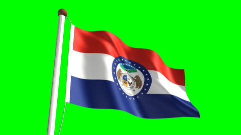 Missouri flag Animation