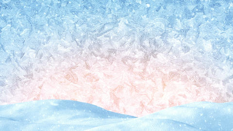 winter christmas background loopable 4k (4096x2304) Footage