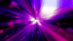 Purple Blue Tunnel Of Lights 4K Animation