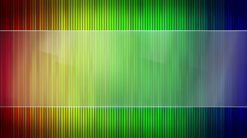 colorful stripes and blank banner seamless loop 4k (4096x2304) Animation
