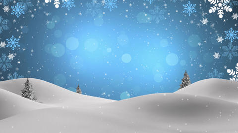 4k, New Year,christmas,3d Winter Background,2016 stock footage