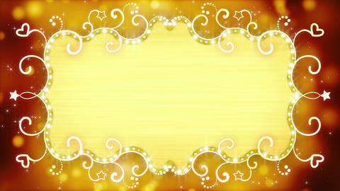 golden casino banner loopable animation 4k (4096x2304) Animation