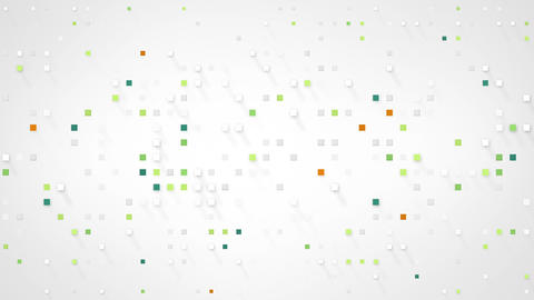 extruded squares abstract loopable background 4k (4096x2304) Animation