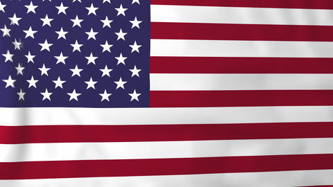 Flag of USA Animation