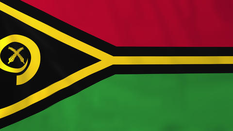 Flag of Vanuatu Animation
