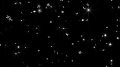 ice crystal snow 1 CG動画