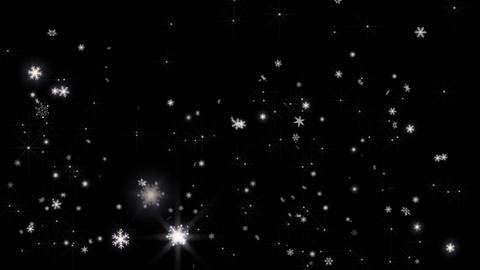 ice crystal snow3 CG動画