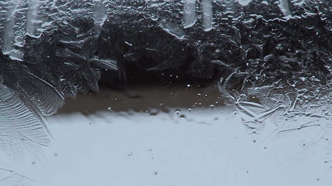 freezing water Footage