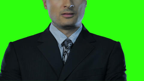 facial expression Green Screen Stock Video Footage