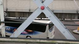 Railway station Bridge London Footage