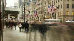 Timelapse Manhattan downtown one Footage