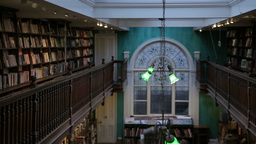 inside old library in london Footage