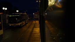 Tram travel at Night, Live Action