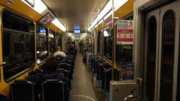 Zurich Tram inside Footage